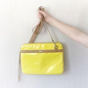 vintage Rebecca Minkoff laptop bag crossbody purse